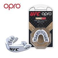 Opro Adult UFC Mouthguards (Adulto) per MMA, Boxe, Karate, BJJ e Altri Sport di Combattimento - Garanzia Dentale estesa di 18 Mesi