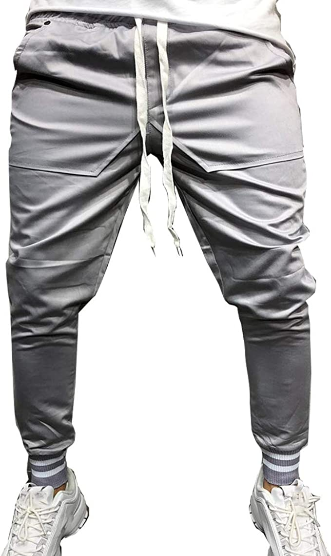 Odot Casual Pantalones Largos Deportivos De Jogging Running ...