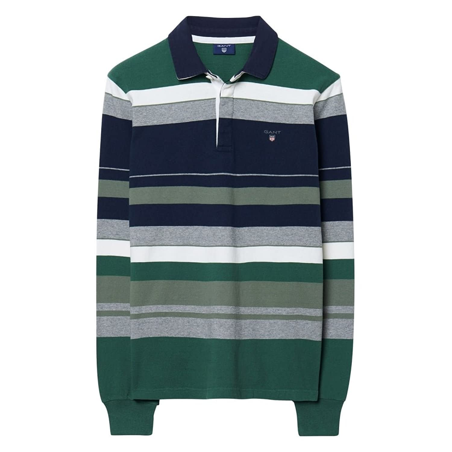 GANT Herren Poloshirt Men's O1. Multi Color Stripe Heavy Rugger