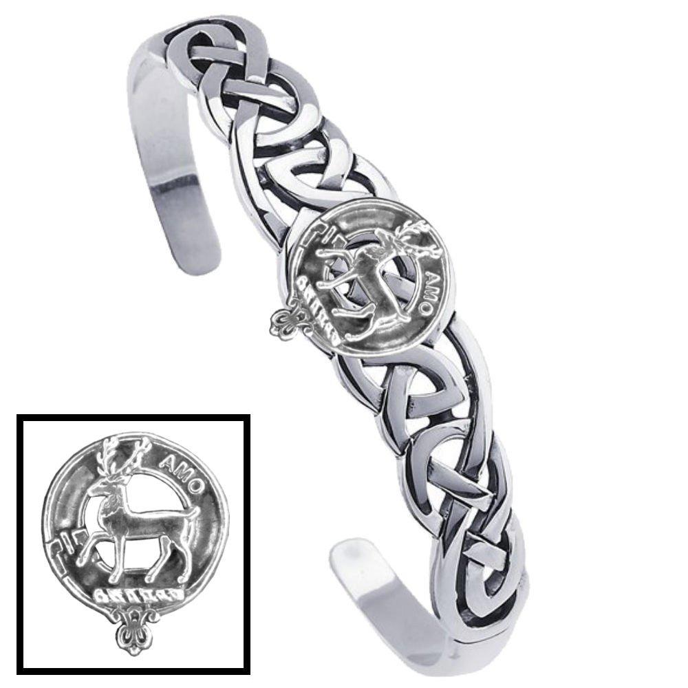 Scott Clan Celtic Cuff Bracelet
