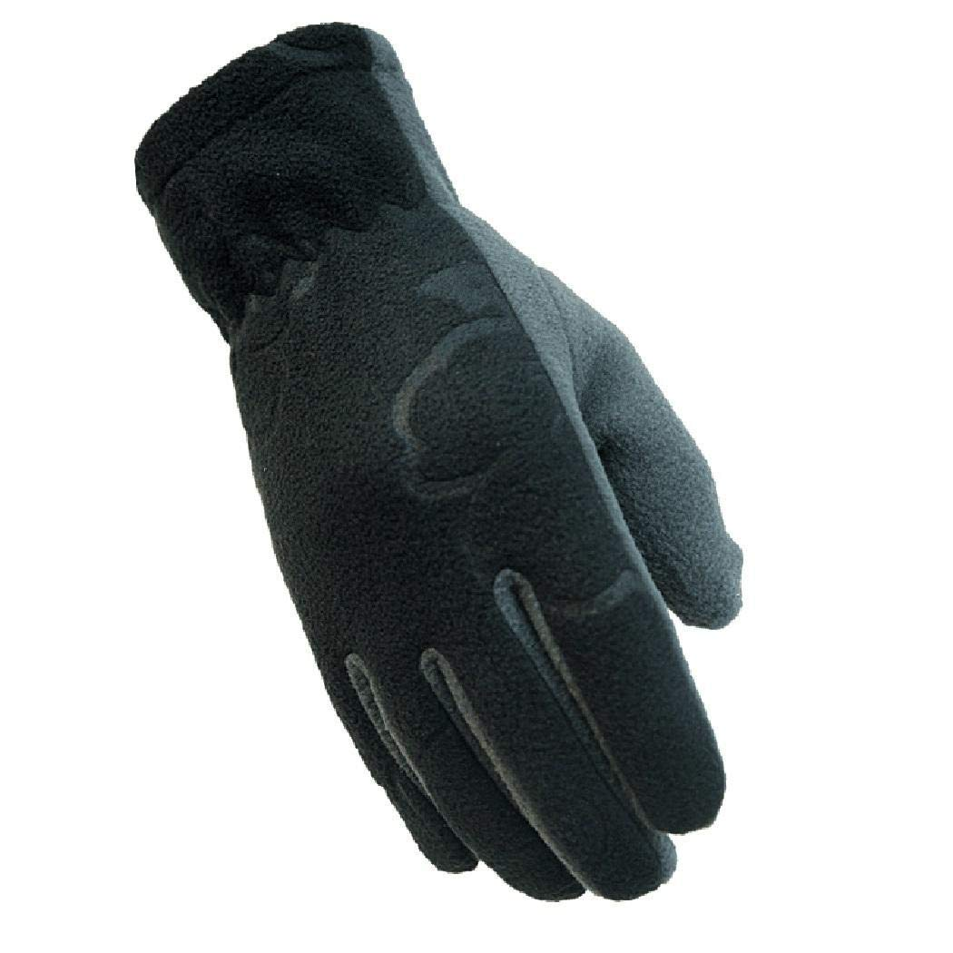 eubell Unisex Casual Gloves Windproof Warm Wrist Full-Finger Gloves Cold Weather Gloves Not Touch Screen