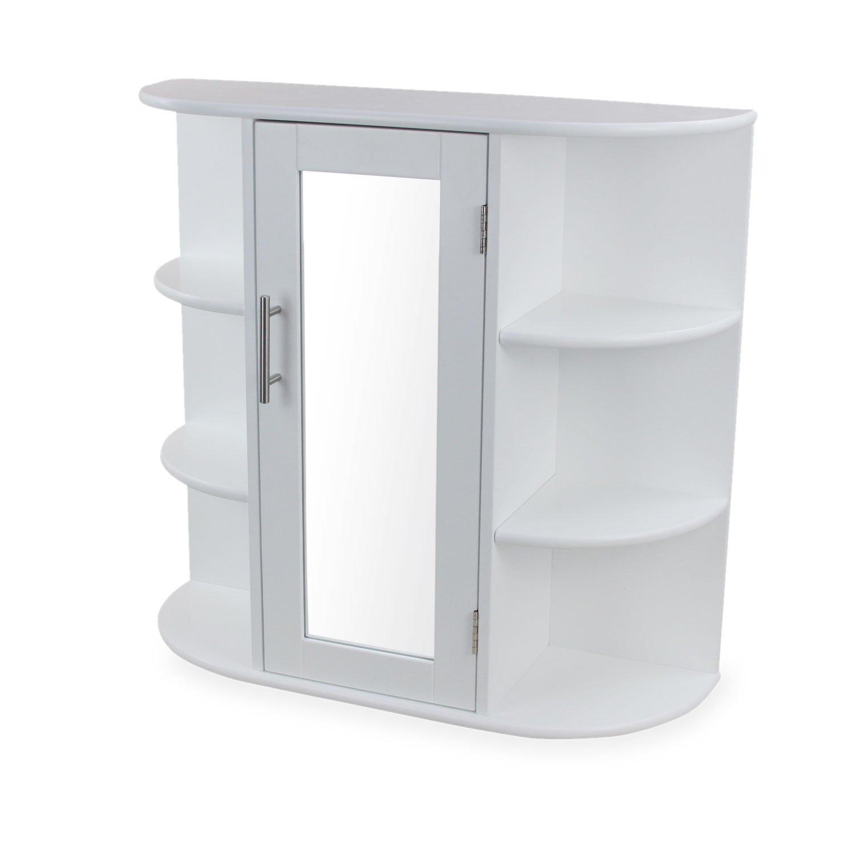 1plus Landhaus Badezimmerschrank Spiegelschrank Hangeschrank Aus
