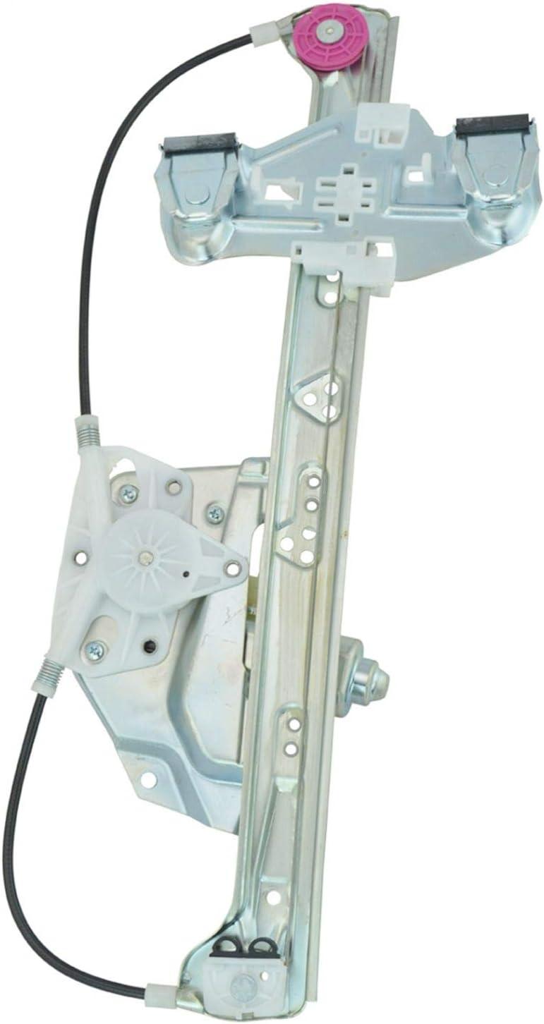 Rear Power Window Regulator Drivers LH w//Motor for 00-05 Buick LeSabre