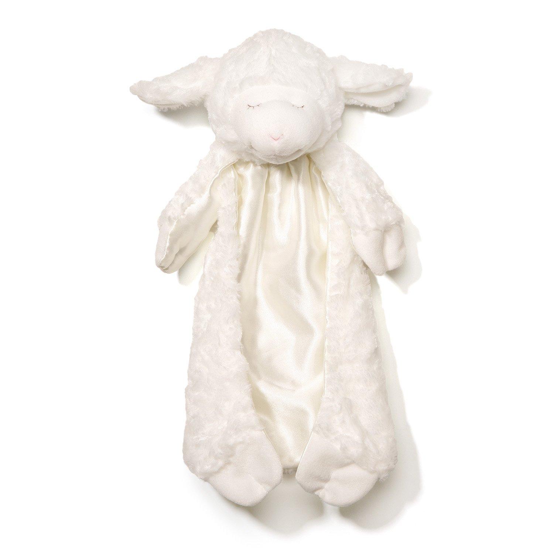 Baby GUND Winky Lamb Huggybuddy Stuffed Animal Plush Blanket, White by Gund Baby