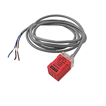 Amazon.com: uxcell DC 10-30V 200mA 3-Wire NPN NO 5mm Inductive ...