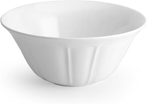 Amazon Com Mikasa Antique White Serving Bowl 10 Inch Kitchen Dining
