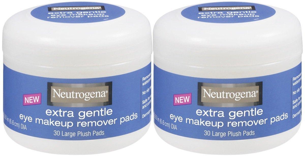 Amazon.com: Neutrogena cosméticos almohadillas para orejas ...