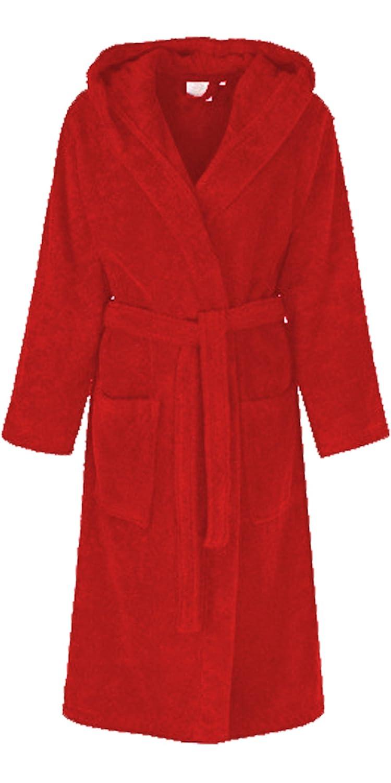 Unisex 100% PLUS SIZE Egyptian Cotton Luxurious Bathrobe Terry Towelling Hooded Dressing Gown S-5XL