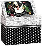 Lang 2011084 Let's Get Cooking Recipe Card Box by Lori Lynn Simms Multicolor