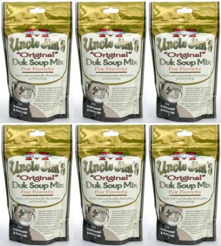 - Marshall Uncle Jim's Original Duk Soup Mix for Ferrets 1.69Lb (6 x 4.5oz)