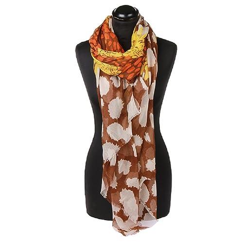 Kossberg - Set de bufanda, gorro y guantes - para mujer Marrón marrón