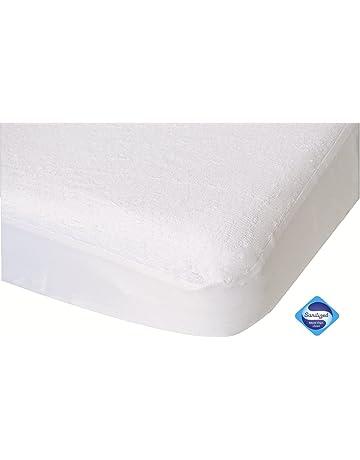 Artbro Baby Ice Silk Cooling Cot Mat and Pillow Case Set Soft Foldable Summer Cool Crib Sheets Mat Pillow Case Non-slip Sweatproof mats Blue