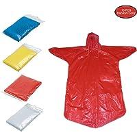 KEISL - Pack de 10 Ponchos de Lluvia