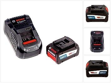 Bosch Starter Set GBA 18 V con 1 x 6,3 Ah/6300 mAh eneracer ...