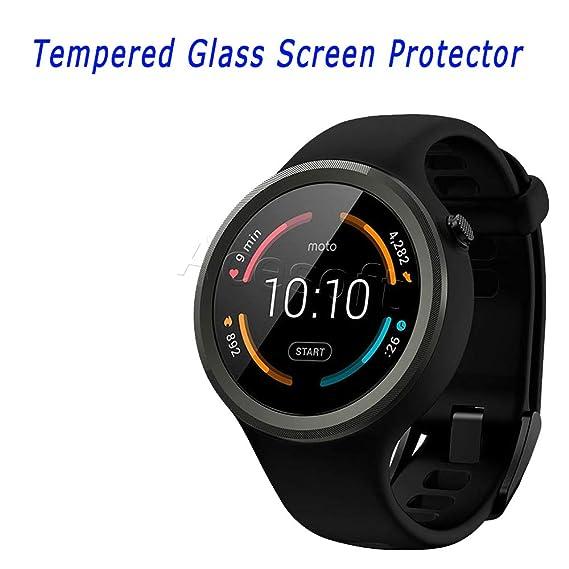 Amazon.com: for Motorola Moto 360 2nd Gen 42mm Tempered ...