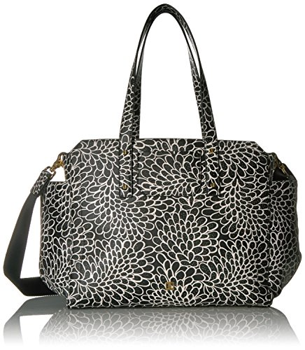 Ivanka Trump Soho Baby Bag, Black Dahlia Outline