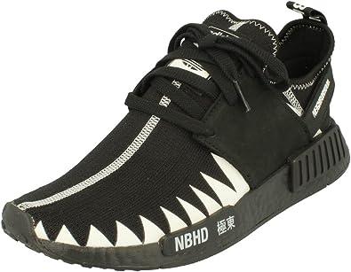 Adidas Originals NMD_R1_PK_NBHD Hombres Running Sneakers (UK 7 US 7.5 EU 40 2/3, Black White DA8835): Amazon.es: Zapatos y complementos