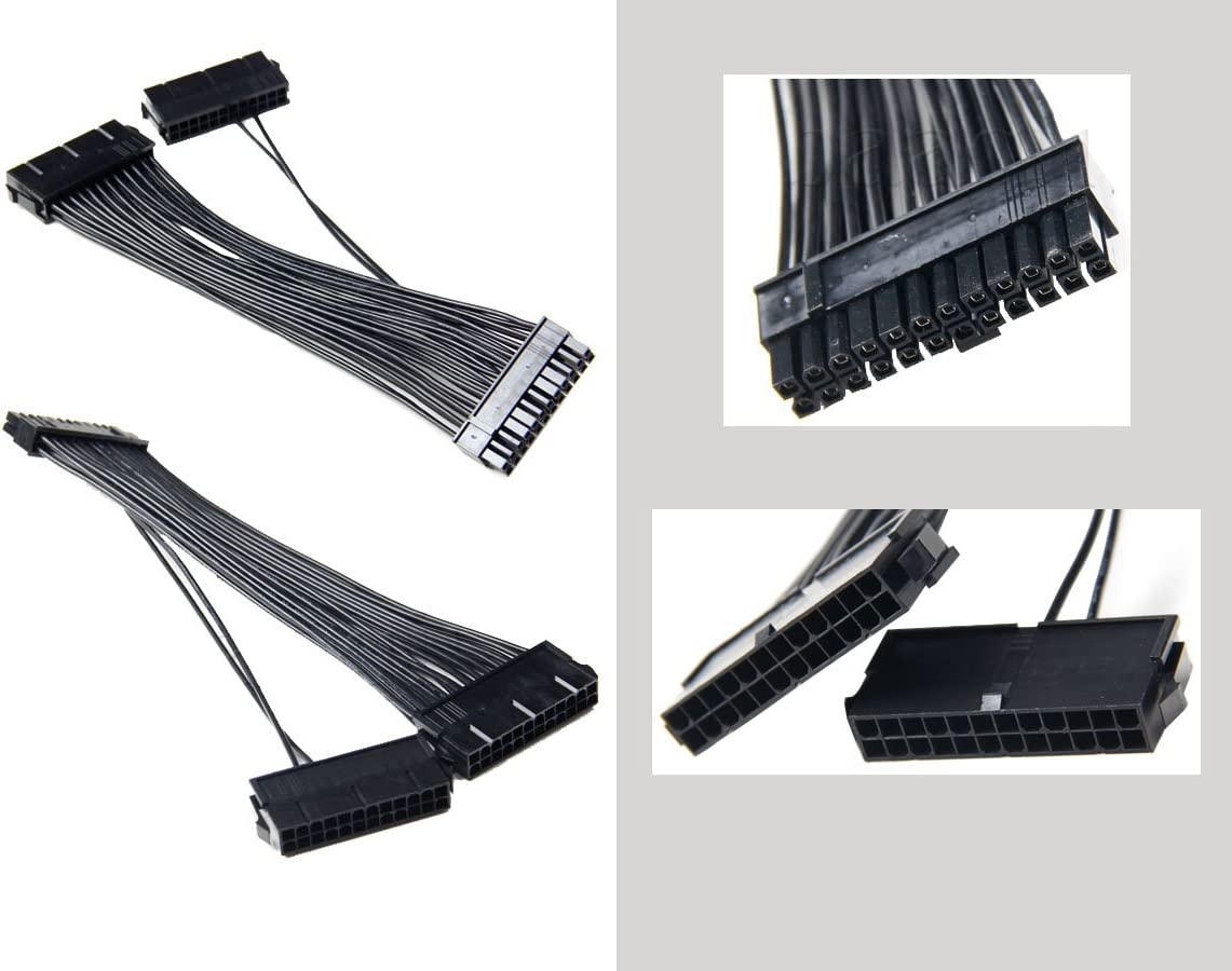 KALEA-INFORMATIQUE /© Doubleur de signal ATX pour lancer et utiliser deux alimentations ATX /à partir dune m/ême carte m/ère