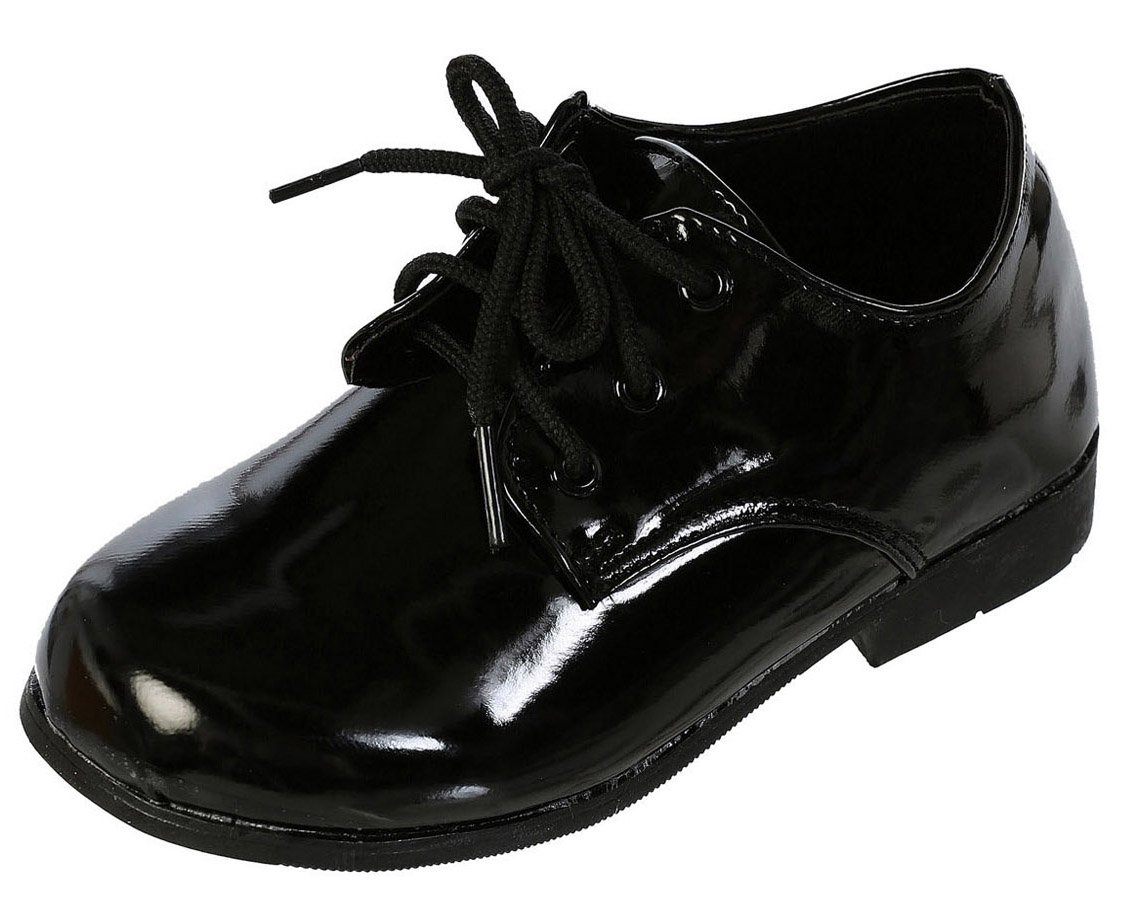 DressForLess Classic Oxford Boys Dress Shoes