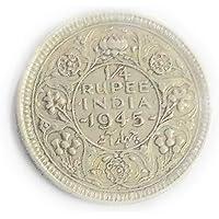 B.I.C 1/4 Rupee Silver