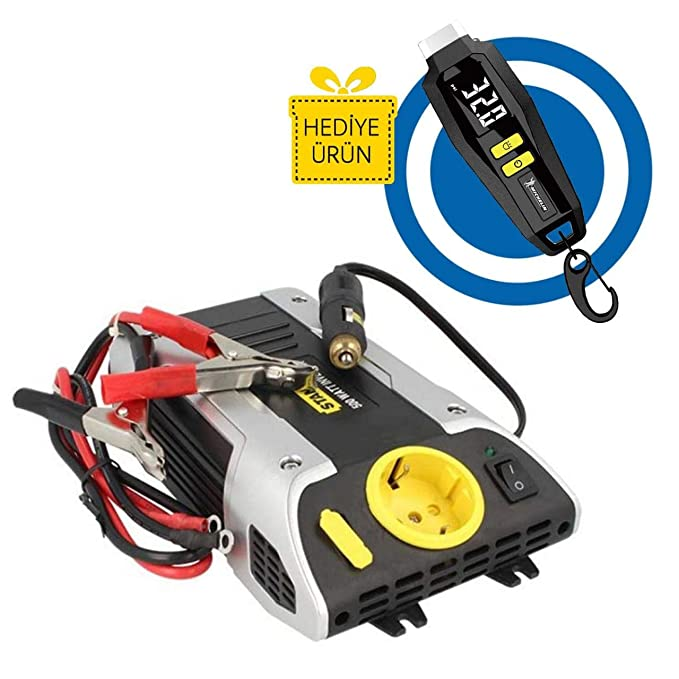 Auto de Energías de Inverter 12 V de 220 V 500 W Stanley PC500 de S: Amazon.es: Iluminación