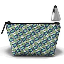 Belize Shine Pattern Cosmetic Bag Makeup Bags Pouch Stationery Bag Pencil Base Learning Bools Handbag Organizer Bag