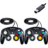 SogYupk Gamecube Controller,Wired Controllers Classic Gamepad 2 Pack Joystick,Compatible with Nintendo and Wii Console Game R