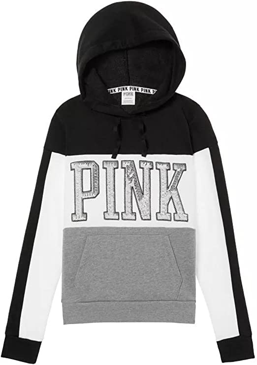 Victoria/'s Secret PINK Campus Tunic Pullover Hoodie S-M NWT