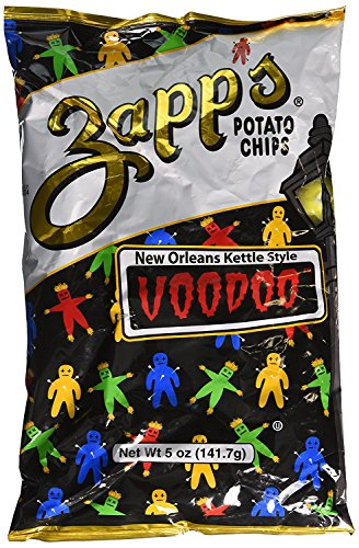 Zapp's Potato Chips New Orleans Kettle Style Voodoo 5 Ounce (5 Pack)