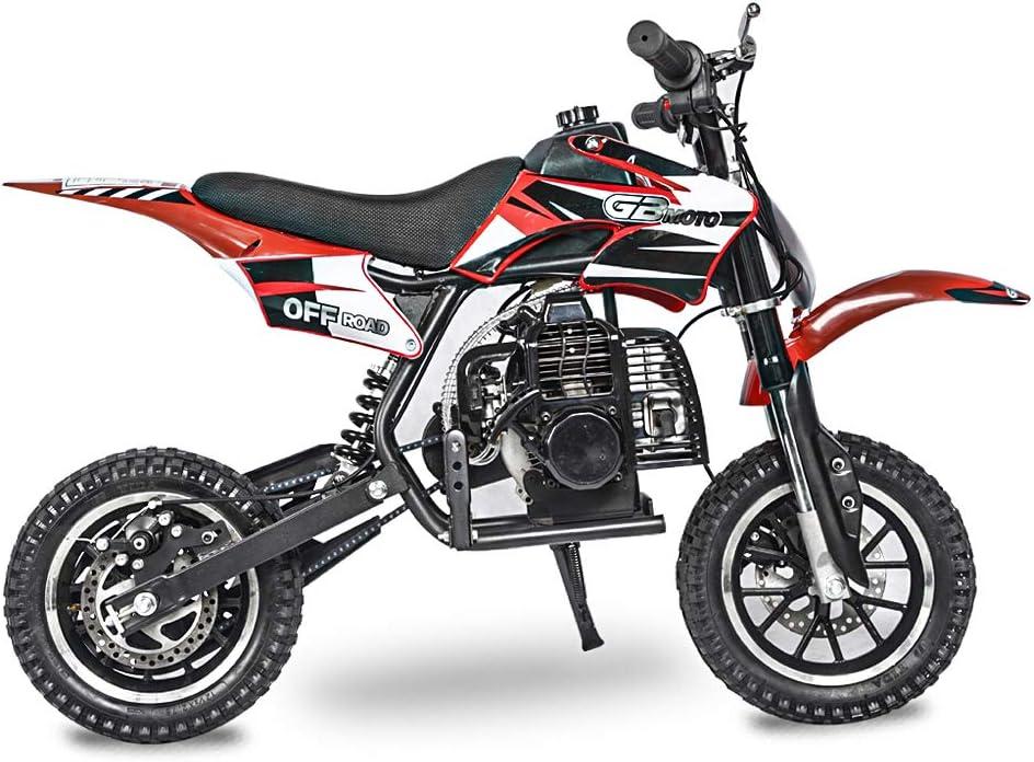 Kid Gas Powered Dirt Bike Off Road Motorcycle Fit Right 2020 DB001 49CC 2-Stroke Kids Dirt Off Road Mini Dirt Bike
