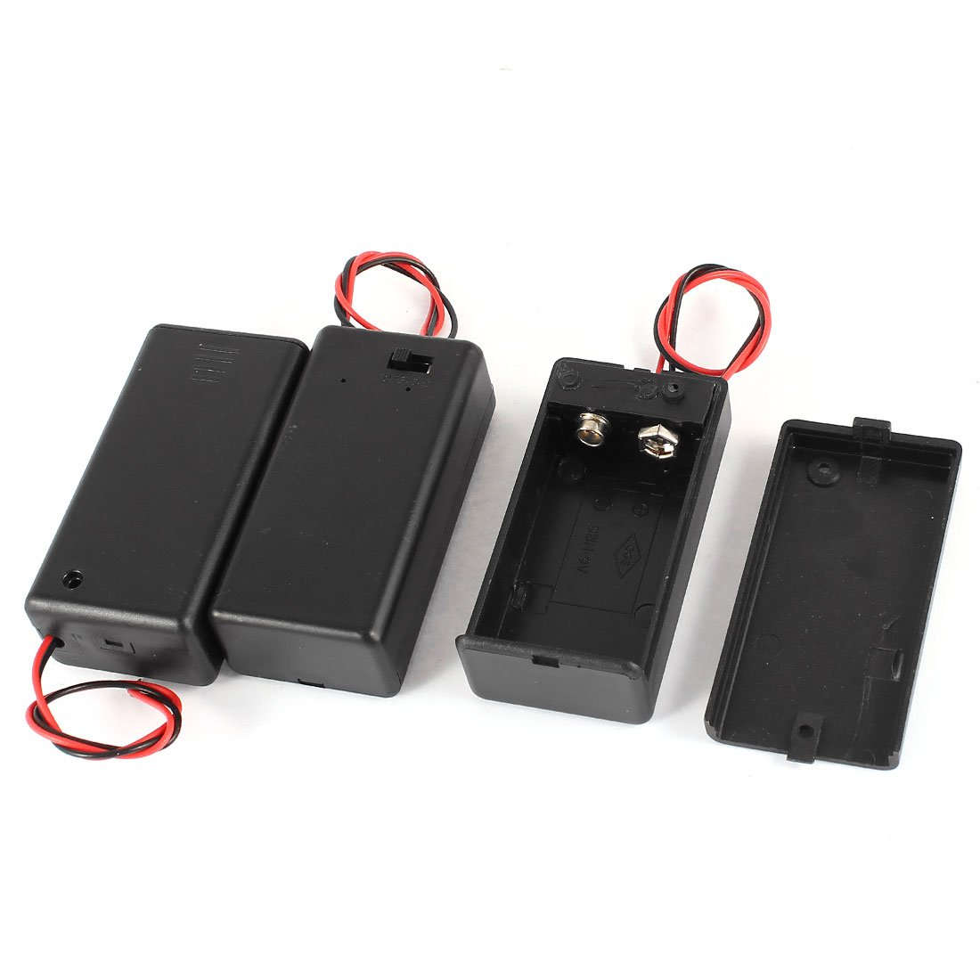 3 Stücke 2 Draht On/Off Schalter 1 x 9V: Amazon.de: Elektronik