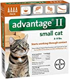 Bayer Animal Health Advantage II Small Cat 4-Pack