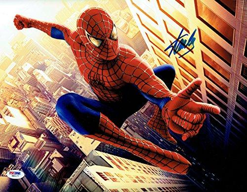 Stan Lee Signed Spider-Man Marvel Comics Authentic 11x14 Photo PSA/DNA #1