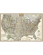 United States Executive Poster Size Map: Wall Maps U.s.