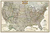 National Geographic: United States Executive Wall Map (Poster Size: 36 x 24 inches) (National Geographic Reference Map)