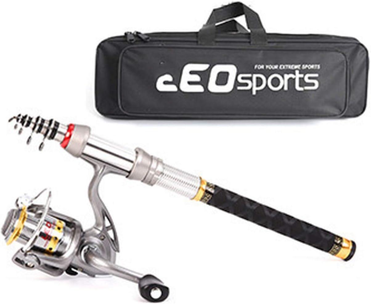 Quality Carbon Fiber Mini Telescopic Fishing Rod 1.5m 1.8m