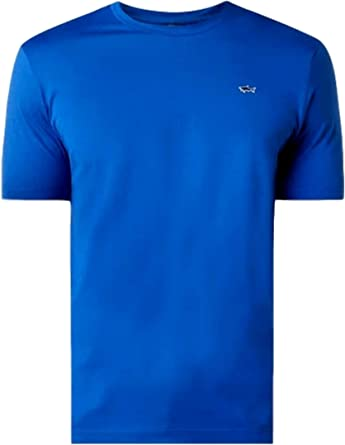 Paul Shark Yachting Camiseta de algodón color Royal Regular Fit E20P1074: Amazon.es: Ropa y accesorios