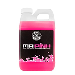 Chemical Guys CWS_402 Mr. Pink Super Suds Shampoo & Superior Surface Cleanser (64 oz), 64. Fluid_Ounces