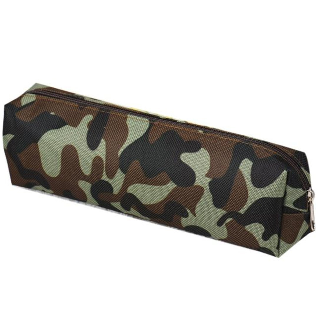 Gemini_mall® 1 x Boys Girls Camouflage Canvas School Pen Pencil Case Pouch Bag, Random Color