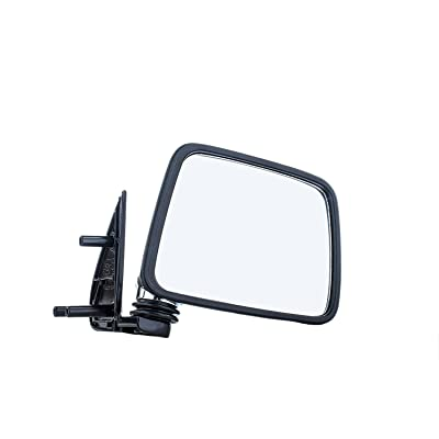 Dependable Direct Right Side Chrome Non-Heated Mirror for 87-95 Nissan Pathfinder, Pickup - NI1321109: Automotive