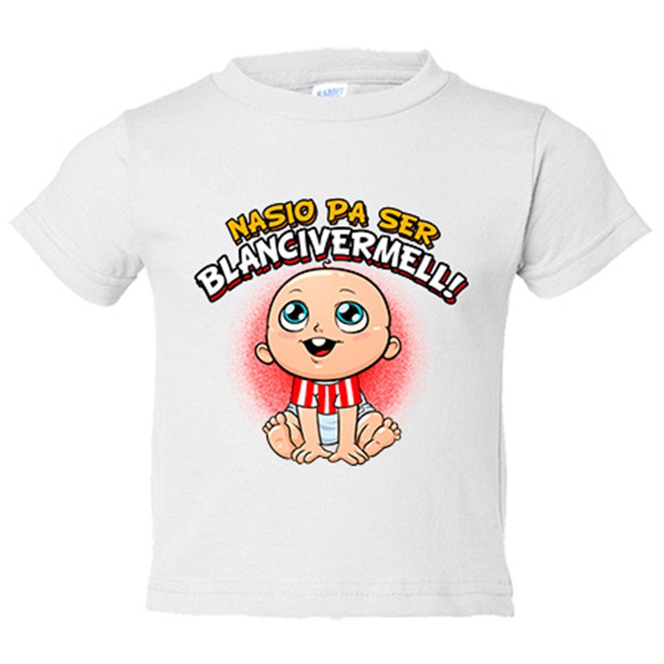 Camiseta niño nacido para ser Blanc i Vermell Girona fútbol - Amarillo, 3-4 años: Amazon.es: Bebé