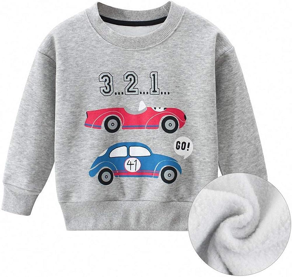 Snyemio Bimbo Bambini e Ragazzi Felpe Casual Autunno Pullover Maglietta Tops per Bambini 1-7 Anni