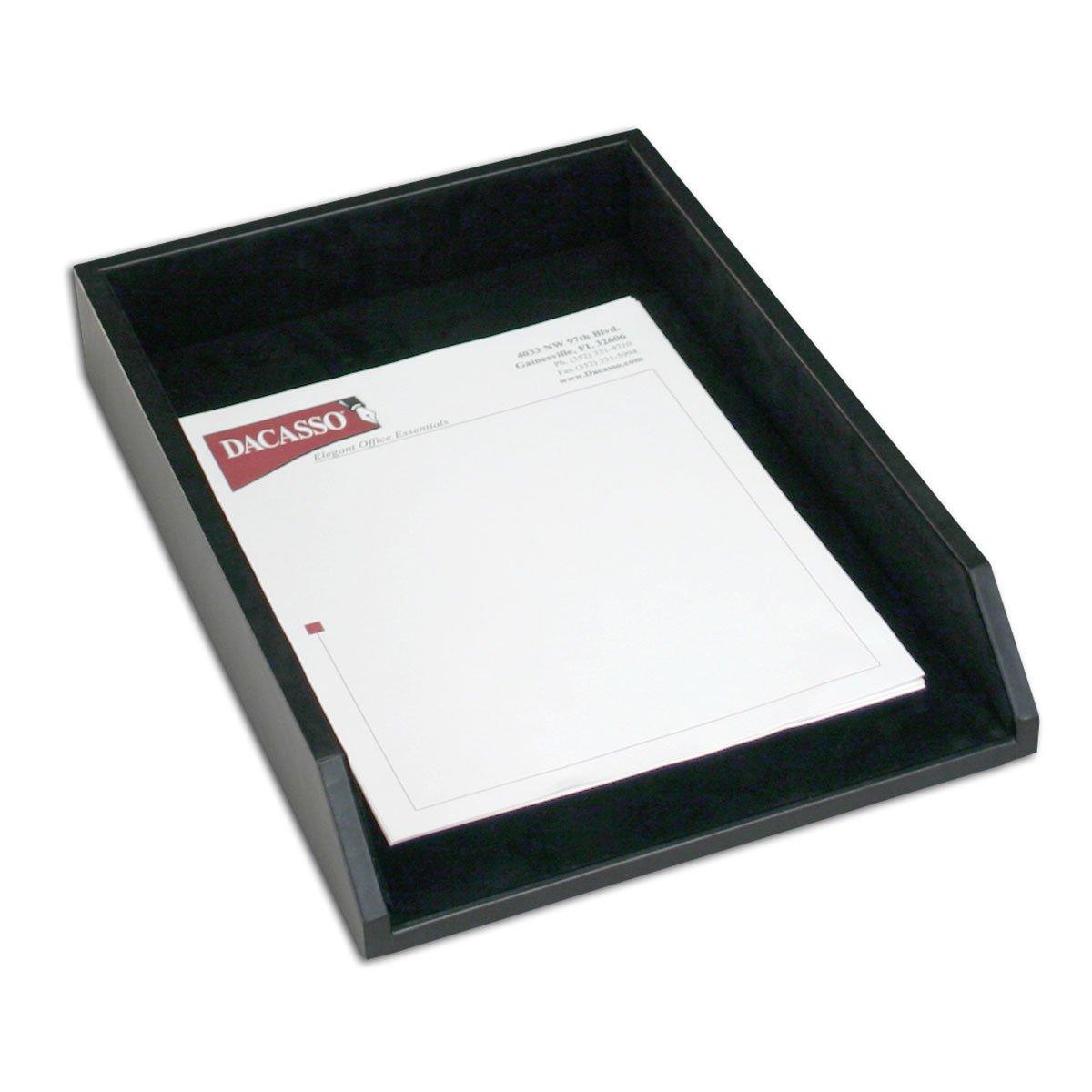 Dacasso Leather Desk Set, 8-Piece, Black by Dacasso (Image #3)