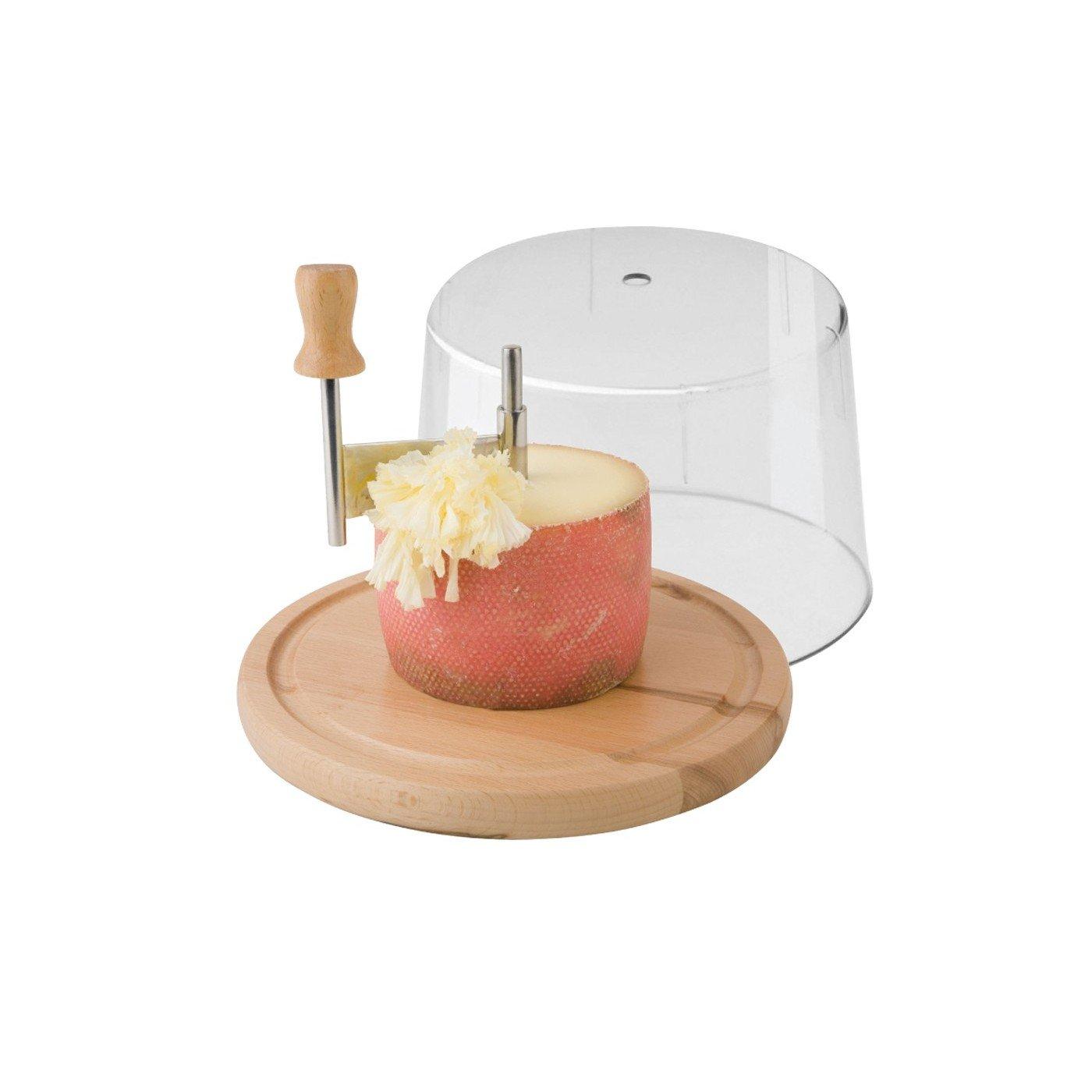 girolle Tagliere per formaggio T/ête de Moine con campana Generico 0114036