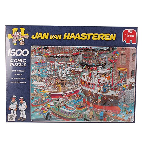 Jumbo Puzzle Jan van Haasteren Crazy Harbour 1500 Jigsaw Puzzle