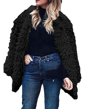 Rovinci ☆ ¡Hola! Las Mujeres de Manga Larga sólido con Capucha suéter Abrigo