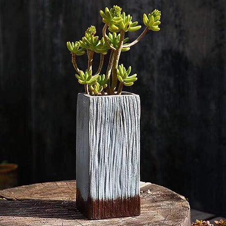 Decor box Iron Gery Metal Rectangle Planter Flower box Window box 5 Sizes