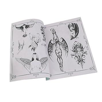 Non Brand Tattoo Vorlagen Buch Skizze Buch Tätowierung Bildanleitung