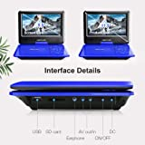 """DBPOWER 11.5"""" Portable DVD Player with"""