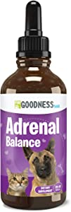 Fur Goodness Sake Best Cushings Treatment for Dogs - Adrenal Support for Dogs, Dog Cushings Drops to Make Them Happy and Healthy Again